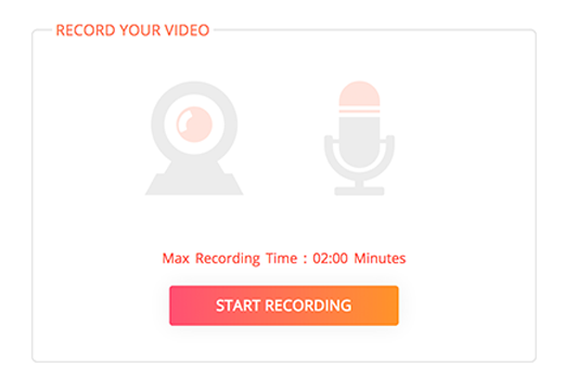 Collect video testimonials from customers